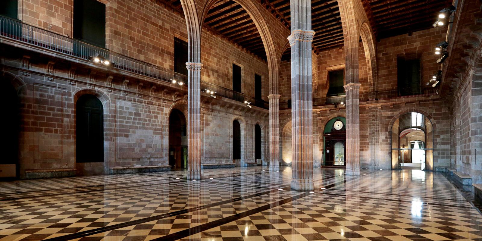 Interior de la Llotja de Mar de Barcelona / ACN